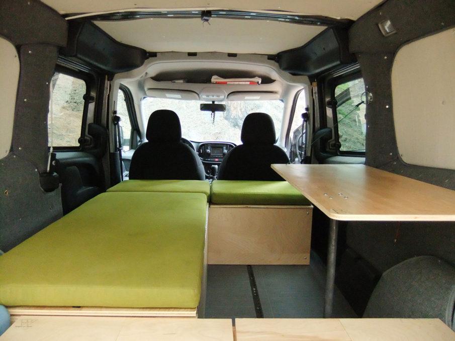 Dodge Ram Promaster >> Van Interior Ideas Part 1 | ProMaster Outpost